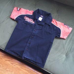 Harley-Davidson Motorcycles Short Sleeve Shirt 3T